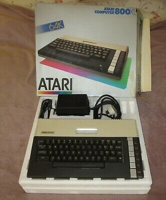 Atari 800XL Computer Complete With Disc Drive Programme Recorder And Printer • 349£