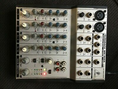 Behringer Eurorack MX 602A Mixing Console - 6 Channel 2 -Bus  • 29£