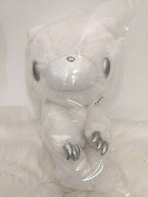 UK SELLER Chax GP Gloomy Bear Plush Christmas White Silver 30cm Snow Japan • 35£