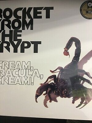 Rocket From The Crypt Scream Dracula Scream Vinyl Album New And Sealed • 17£