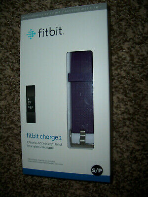 $ CDN7.27 • Buy Fitbit Charge 2 Classic Accessory Band Size S/p   Plum   NEW