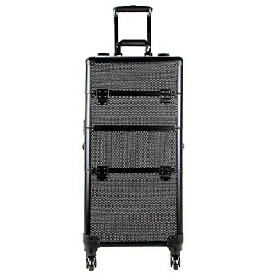 $179.99 • Buy Sunrise Professional Rolling Cosmetic Makeup Aluminium Trolly Case With Drawers