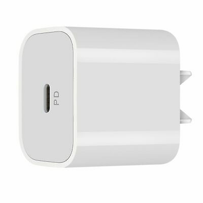 AU17.89 • Buy 20W USB-C Power Adapter Fast Charger Head For IPhone 8 XS 11 12 Min Pro Max IPad