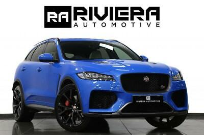 2019 Jaguar F-Pace 0.0 SVR AWD 5d 543 BHP Estate Petrol Automatic • 58,995£