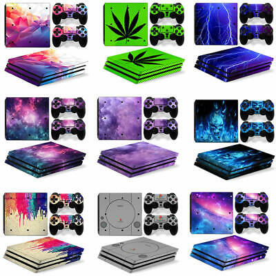 AU10.33 • Buy PlayStation 4 PRO PS4 PRO Decal Skin Sticker Set For Console &2 Pads