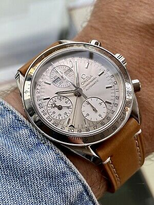 Omega Speedmaster 38mm Reduced 24hr Dial Triple Date Automatic Mens Ful Set • 2,499.99£
