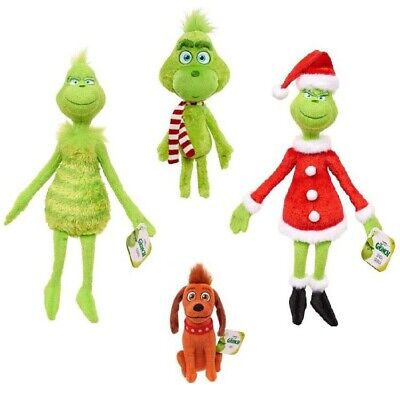 £5.99 • Buy Christmas Doll How The Grinch Stole Stuffed Plush Toy Xmas Kids Gifts 12.6
