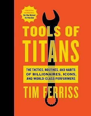 AU30 • Buy Tools Of Titans: The Tactics, Routines, And Habits Of Billionaires, Icons,...