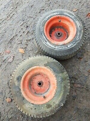 £48 • Buy 16x6.50-8 Ride On Mower Lawn Westwood Tractor TYRES Countax Wheels Rear Back