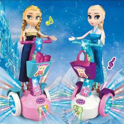 AU38.12 • Buy Toys For 4 5 6 7 8 9 10 Year Old Kid Dolls Mini Cycle Music With Light For Girls