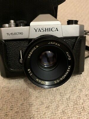 Yashica TL Electro Camera With 50mm Lens And Case • 12.40£