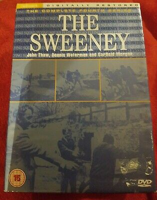 The Sweeney - Series 4 - Complete (DVD - 4-Disc Set) • 3.20£