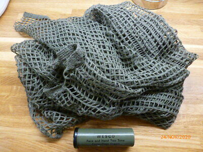 Camouflage Face Paint And Neck/head Netted Scarf  • 1£