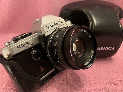 Yashica Fx-d  Recovered And Seals With Mint Yashica ML 50mm 1:2 And Perfect Case • 70£