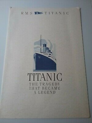 Rare Collectable Titanic The Tragedy That Became A Legend.drawings/photos • 2.99£