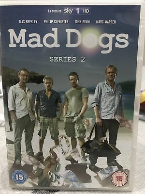 Mad Dogs - Series 2 - Complete Dvd Max Beesley John Simm • 0.99£