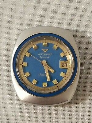$ CDN299.99 • Buy Vintage Wittnauer Mens Watch Automatic 17 Jewel Day Date Watch  C11KAS-2
