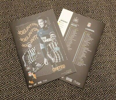 Newcastle United V West Brom Bromwich Albion Programme 12/12/2020! PRE-ORDER! • 6.89£