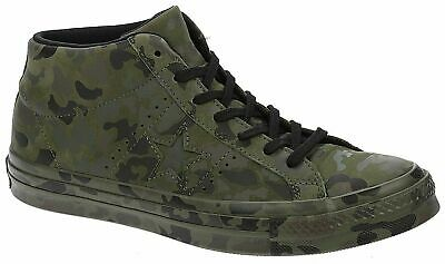 Converse One Star Chuck Taylor Unisex One Star Mid Camouflage Mens Trainers UK • 49.99£
