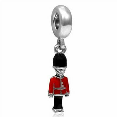 Toy Soldier Charm S925 Ale Ch035 Beads Fashion DIY For Women Party Jewelry Gift • 4.23£