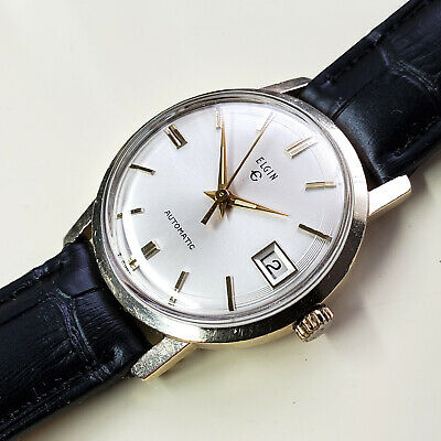$ CDN169.44 • Buy Vintage 1967 Elgin Men's Automatic Watch - Cal 970 - AS 1700 Movement