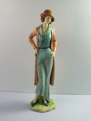 The Regal Collection Figurine P024 RUTH - Lady In Fashion Outfit - 26cm Tall • 19.99£