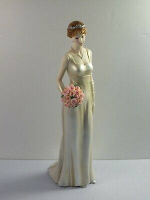 The Regal Collection Figurine BRIDESMAID P031 - 26cm Tall • 19.99£