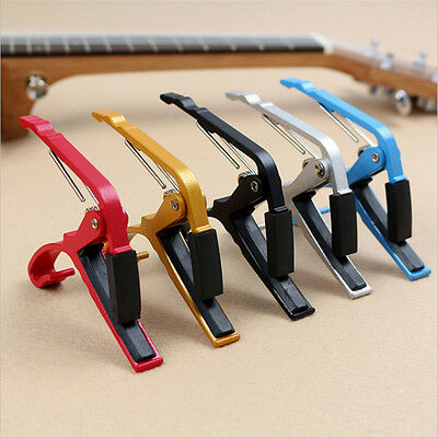 $ CDN3.79 • Buy Black Quick Change Clamp Key Capo For Classic Guitar Acoustic Electric New.
