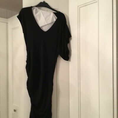 Ladies Designer Black Dress By Guess Marciano Size Medium • 15£