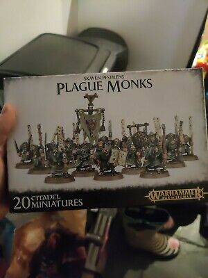Plague Monks - Skaven Pestilens Age Of Sigmar 20 Citadel Miniatures Warhammer • 5.70£