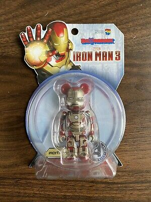 $15.82 • Buy Iron Man 3 Mark 42 Bearbrick 100%
