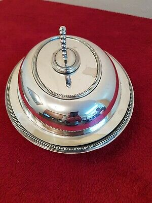 Silver Plated  ENTREE/SERVING DISH 1900-1910 • 25£