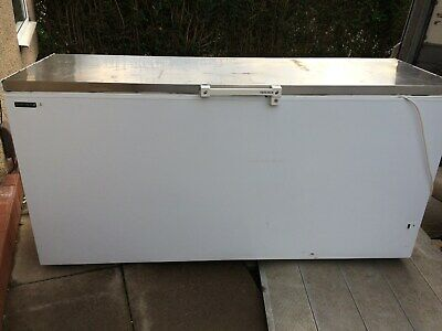 Stainless Steel Lid Large Size Telfcold (650l) Commercial/catering Chest Freezer • 375£