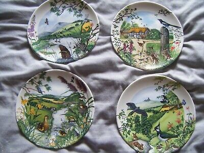 Ltd. Edition Wedgwood Country Panorama Plates X 4 • 10£