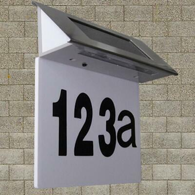 House Numbers Address Sign - Solar Lighted Address Numbers Signs For Houses Or • 10.38£