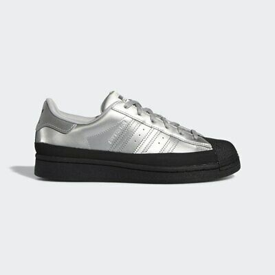 $ CDN169.97 • Buy Adidas Originals Women's Silver Black SUPERSTAR Fashion Sneakers FW3709