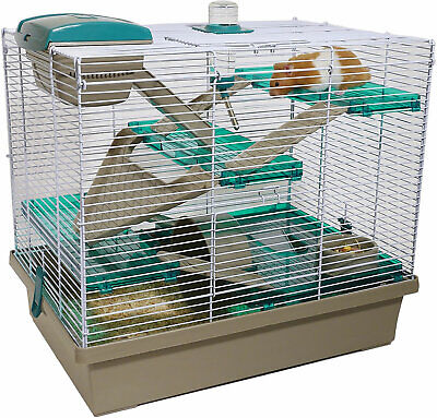 Rosewood Pico Extra Large Syrian Hamster Cage, Teal • 38.99£