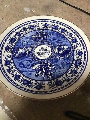 """Ringtons Collectables The Four Seasons Plate 8"""" • 0.99£"""