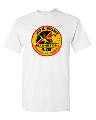 T Shirt Tee 100% Cotton Hot Rod Drag Race Joe Hunt Magneto Speed Shop Dragster • 17.87£