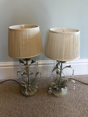 Pair Of Laura Ashley Table Lamps With Shades • 24.99£