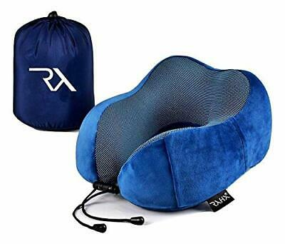 Travel Pillow By Raha | Neck Pillow For Travelling Or Flight Pillow Designed For • 13.99£