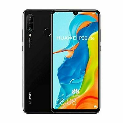 HUAWEI P30 Lite - 256 GB Android Mobile Smart Phone Black - UK Spec • 189.99£