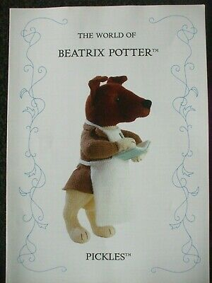 Beatrix Potter  Pickles Toy  Doll Knitting Pattern • 9.99£