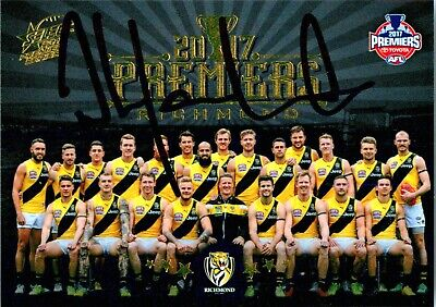 AU34.99 • Buy ✺Signed✺ 2017 RICHMOND TIGERS AFL Premiers Card DAMIEN HARDWICK