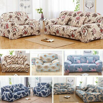 AU29.99 • Buy 1 2 3 4 Seater Stretch Sofa Cover Couch Lounge Recliner Slipcover Protector AU