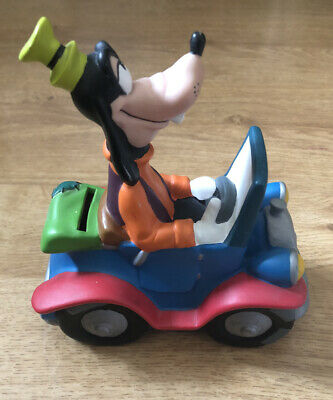 Vintage Disney Goofy Character Money Box • 2.99£
