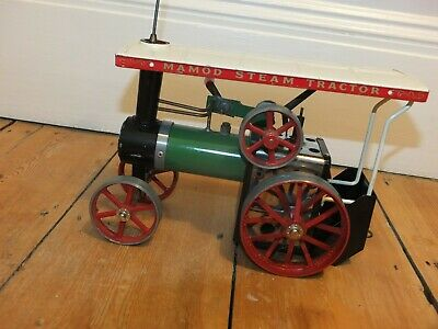 Vintage Mamod Steam Tractor Engine TE1A And Accessories • 41£