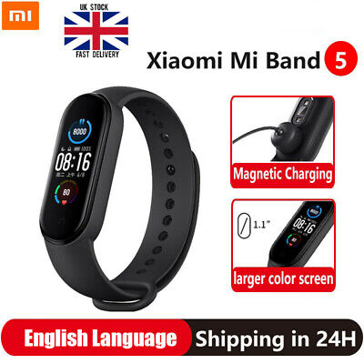 View Details Xiaomi Mi Band 5 Smart Watch/Bracelet Fitness Activity Tracker Heart Rate Black • 22.99£