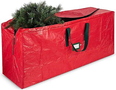 9FT Christmas Tree Storage Bag Xmas Decorations Zip Up Store Bag With Handles   • 11.99£