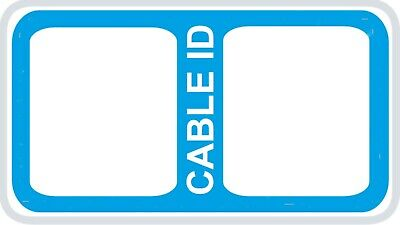 £2.99 • Buy 65x Cable Labels 7 Different Colours Self Adhesive Sticky Identification Labels